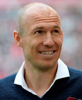 Bayern Munich's Arjen Robben is hoping to make his return from injury against Arsenal tomorrow