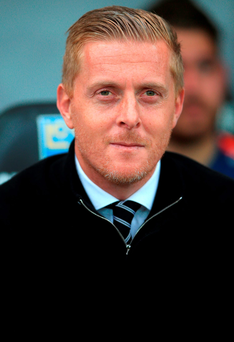 Swansea City manager Garry Monk said that he and Stoke counterpart Mark Hughes had 'a great relationship'