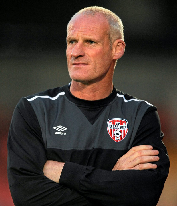 Derry City manager Paul Hegarty