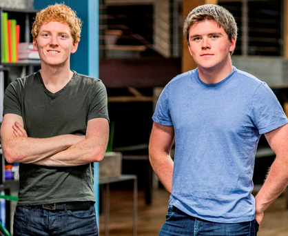 Stripe co-founders John and Patrick Collison
