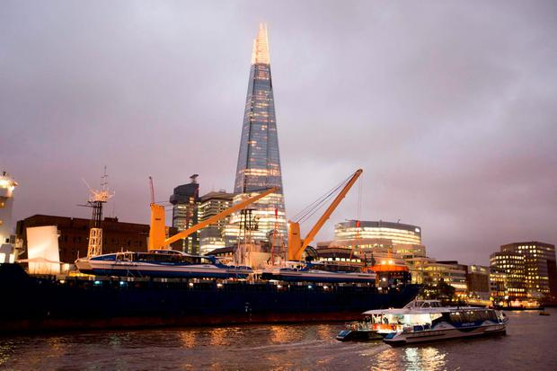 Two new catamarans Ð Galaxy Clipper and Neptune Clipper Ð that have travelled over 15,000 miles from where they were built in Tasmania, Australia arrive at their new home on the River Thames in London, to join the MBNA Thames Clippers fleet