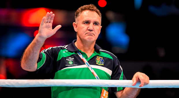 Ireland boxing coach Billy Walsh