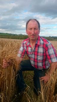 Farmer Maurice Gannon from Keelogues, Co Galway.