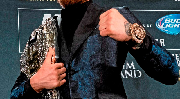 Conor McGregor is set to face Jose Aldo on 12th December