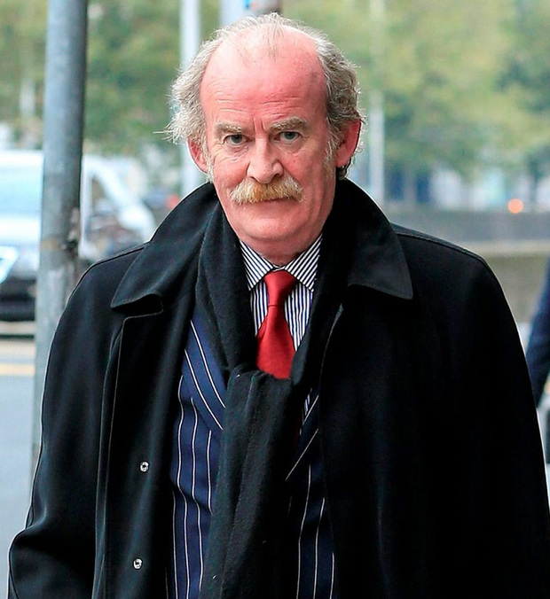 Sunday World editor Colm MacGinty outside the Court of Appeal