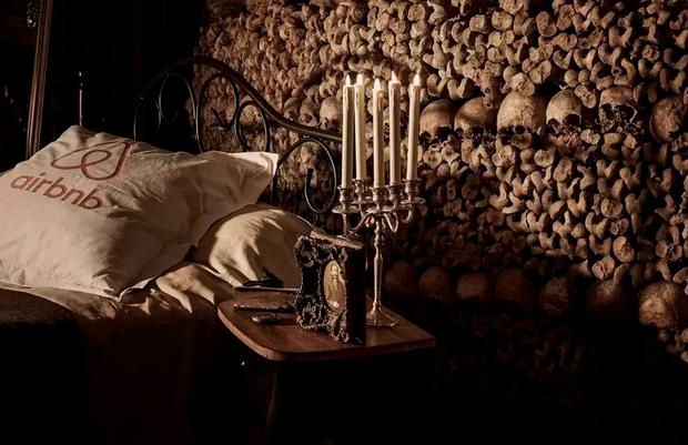 Sleep in the Paris Catacombs with Airbnb