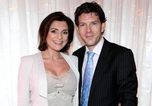 Colette Fitzpatrick and husband Niall McDermott