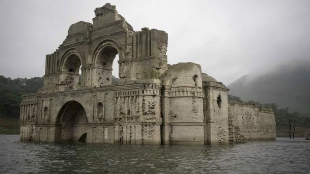 The Temple of Santiago was thought to have been built in the 16th century Photo: AP