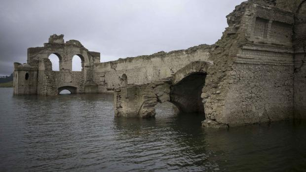 The church was abandoned due to plague outbreaks in 1773 - 1776 Photo: AP
