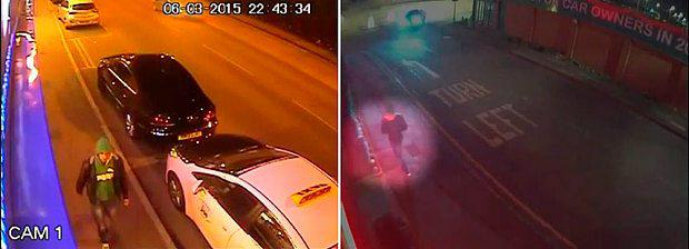 CCTV images dated 6/3/2015 issued by West Yorkshire Police of Zdenko Turtak walking around Beeston, Leeds on the night he carried out the attack