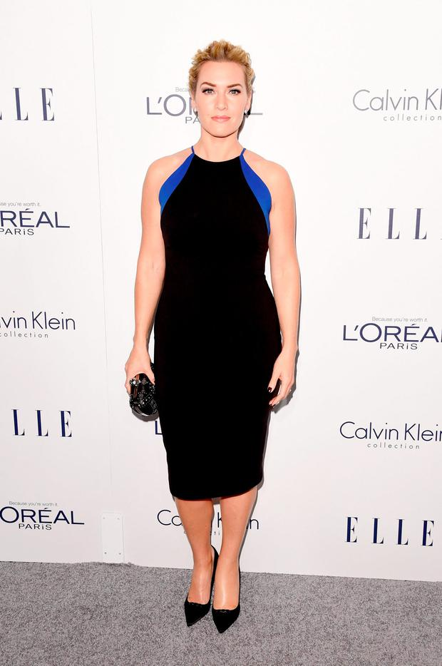 Actress Kate Winslet attends the 22nd Annual ELLE Women in Hollywood Awards at Four Seasons Hotel Los Angeles at Beverly Hills on October 19, 2015 in Los Angeles, California. (Photo by Jason Merritt/Getty Images)