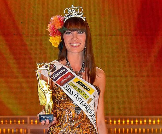 The 26-year-old represented Austria two years ago at Miss World