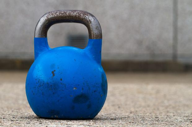 Kettlebell (stock photo)