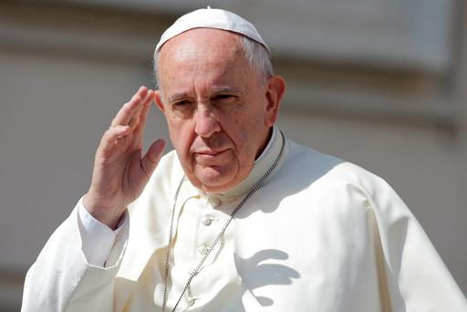Pope Francis has expressed his 'deep sadness' at the loss of 10 lives in the Carrickmines fire tragedy