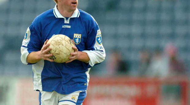 Mick Lawlor playing for Laois in 2004