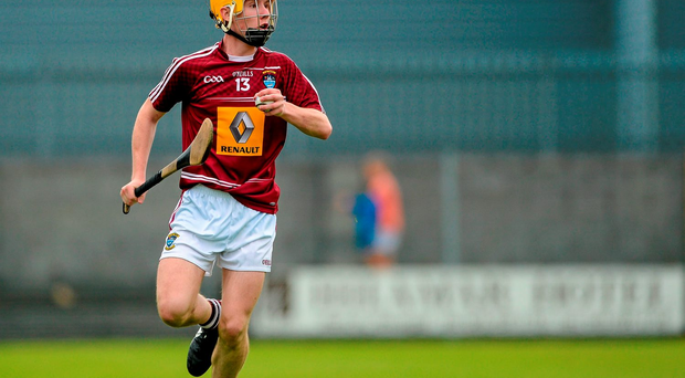Westmeath and Raharney forward James Goonery was one of several young hurlers being asked to play in the county minor and senior finals on the same day