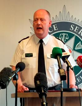 PSNI Chief Constable George Hamilton: 'Some current Provisional IRA and former members continue to engage in a range of criminal activity and occasional violence in the interest of personal gain'