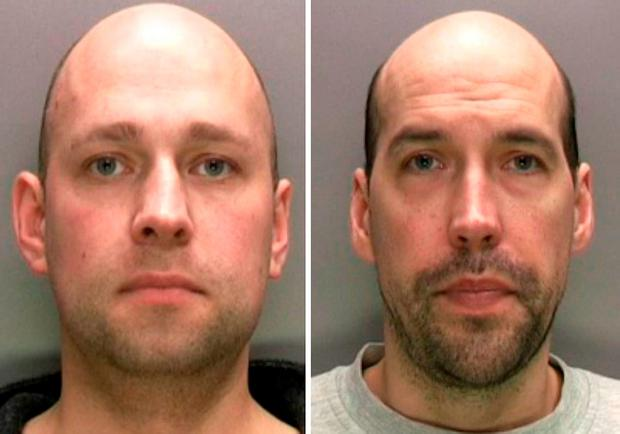 West Midlands Police undated handout photo of Roger (right) and David Cooper who will sentenced at Birmingham Crown Court for murdering Sameena Imam
