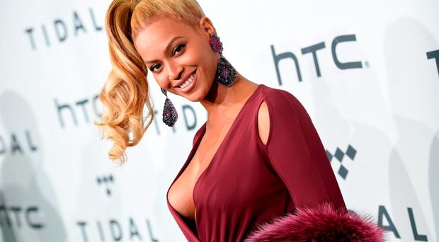 Singer Beyonce arrives at TIDAL X: 1020 Amplified by HTC at the Barclays Center on Tuesday, Oct. 20, 2015, in New York. (Photo by Evan Agostini/Invision/AP)