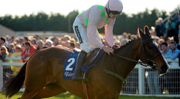 Ruby Walsh is hoping to team up with Vroum Vroum Mag at Newbury next month