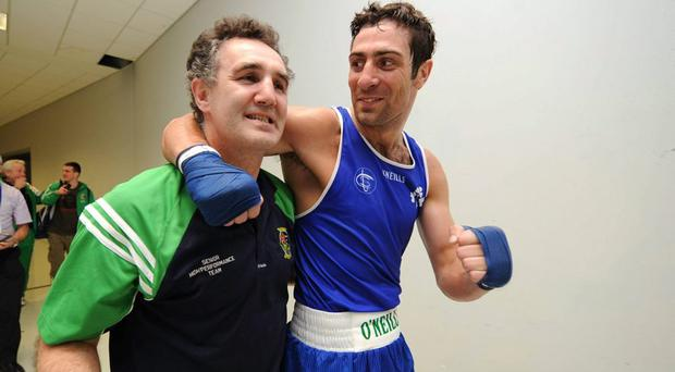 Kenneth Egan and Billy Walsh after another victory