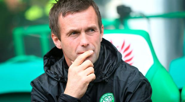 Celtic manager Ronny Delia