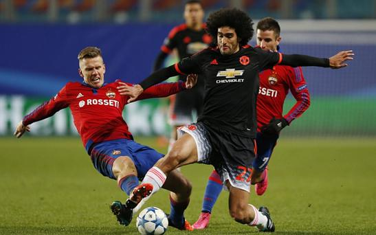 Manchester United huffed and puffed in Moscow