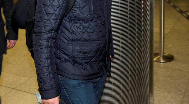Billy Walsh pictured at Dublin Airport this morning.