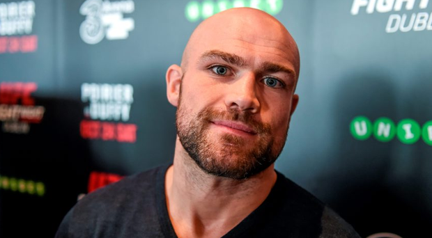 Cathal Pendred in attendance during the UFC Fight Night Ultimate Media Day. 3Arena, Dublin. Picture credit: Stephen McCarthy / SPORTSFILE