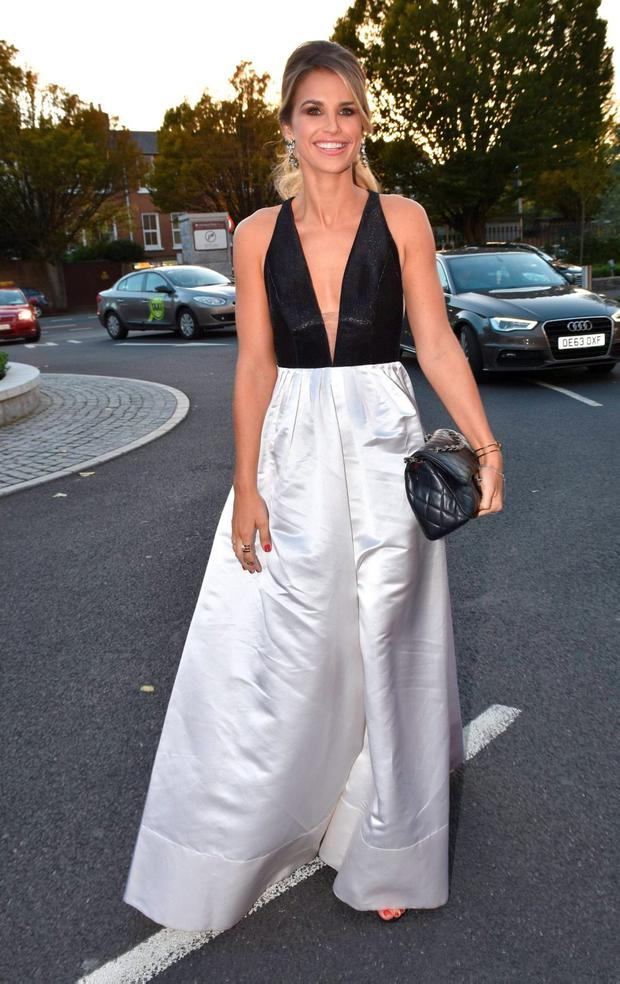 Vogue Williams at the IFTA Awards 2015