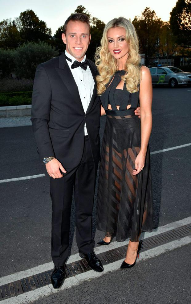 Wesley Quirke, Rosanna Davison at The IFTA Awards 2015