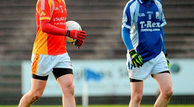 Eoghan O'Reilly, Castlebar Mitchels, left, alongside his brother Tommy O'Reilly, Breaffy