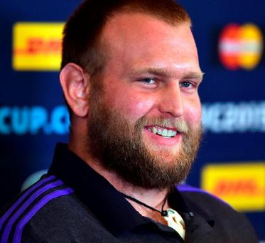 New Zealand's prop Joe Moody