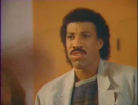 Lionel Richie in Hello (1984)