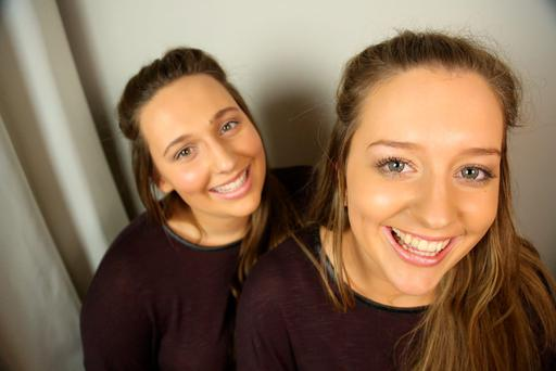 Cordelia Roberts (left), from UK and Ciara Murphy, from Wexford