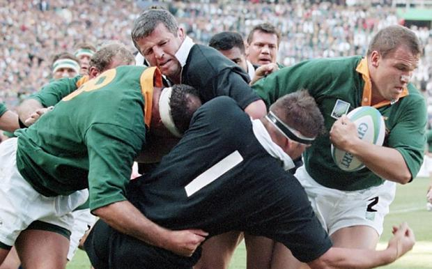 South Africa will take inspiration from the 1995 RWC final Photo: AFP