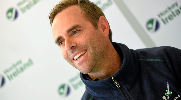 Ireland Men's Hockey coach Craig Fulton