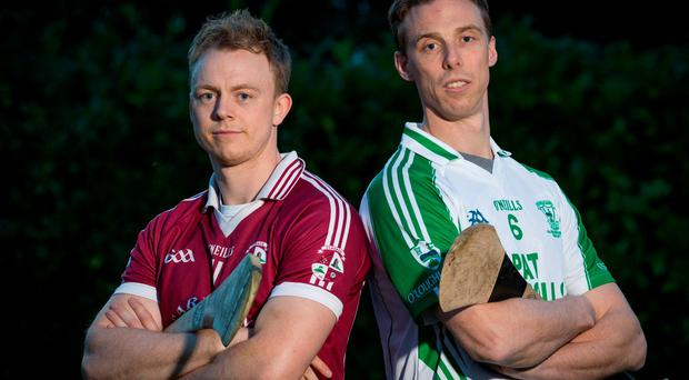 Brian and Keith Hogan will battle it out for Kilkenny glory tomorrow