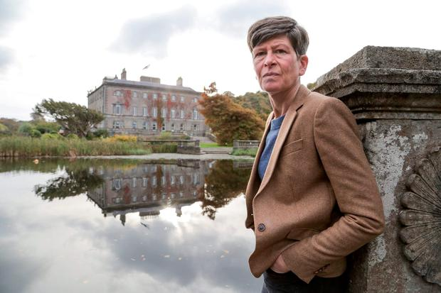 Lady Sheelyn Browne, who manages the estate with her sister Karen, at Westport House, Co Mayo. Photo: Keith Henegha