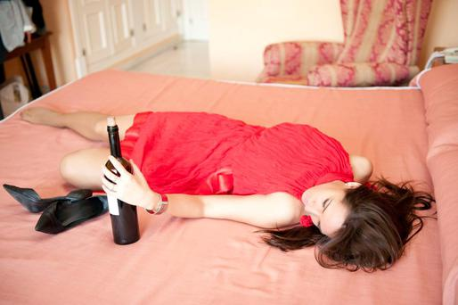 Hitting the bottle: four out of ten of us binge regularly. Photo: Shutterstock