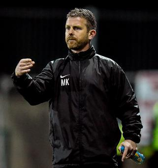 Drogheda United manager Mark Kinsella