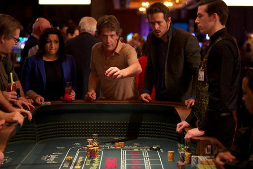 On dicey ground: Ben Mendelsohn and Ryan Reynolds let it roll and gamble it all in thriller 'Mississippi Grind'.