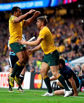 Aussies can win on luck as well as talent. Photo: Reuters