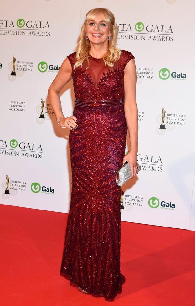 Miriam O'Callaghan at The IFTA Awards 2015 at the Doubletree Hilton Hotel