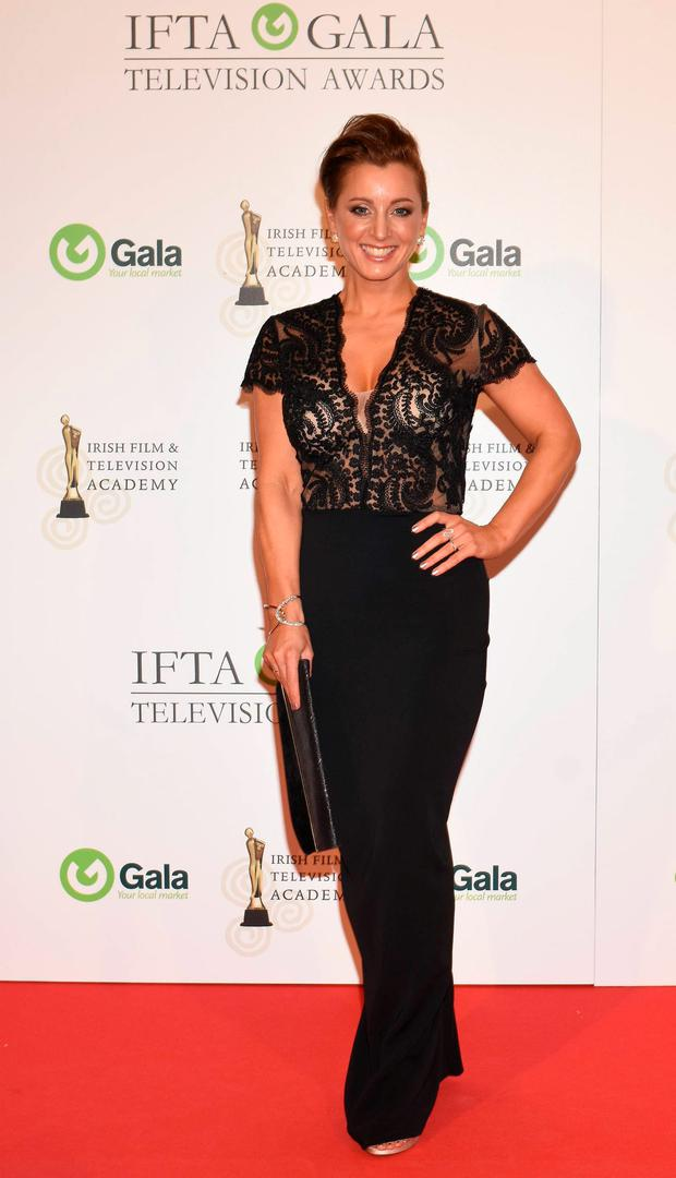 Sinead Desmond at the IFTA Awards 2015 at the Doubletree Hilton Hotel