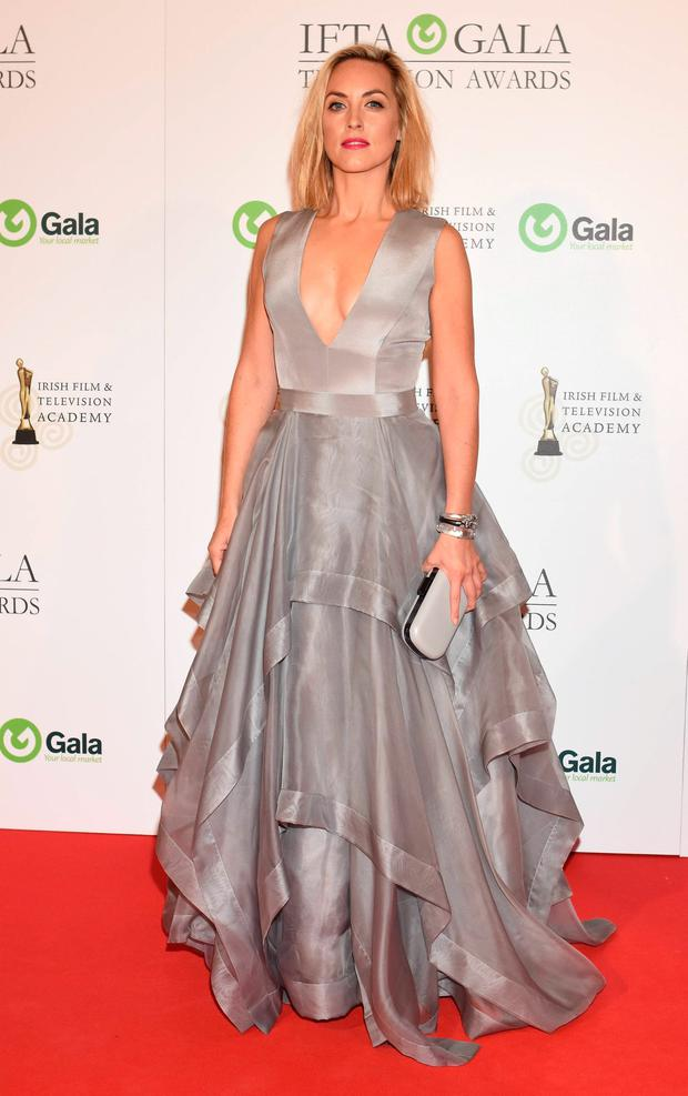 Kathryn Thomas at The IFTA Awards 2015 at the Doubletree Hilton Hotel
