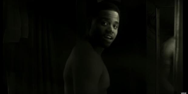 Tristan Wilds in Adele's new music video, Hello