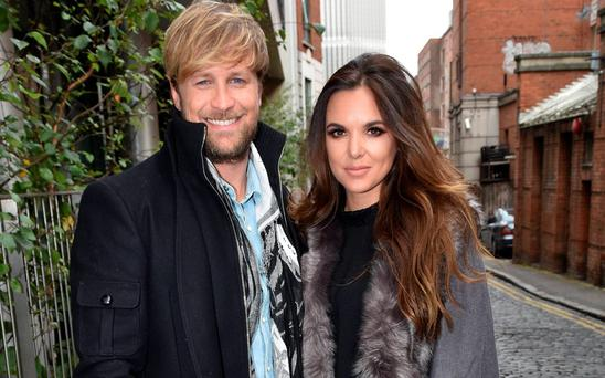 Kian Egan & wife Jodi Albert at Today FM's Anton Savage Show