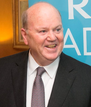 Finance Minister Michael Noonan's Budget included a €3 increase in the weekly pension