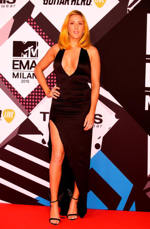 Ellie Goulding attending the MTV European Music Awards 2015 held at the Mediolanum Forum di Assago in Milan, Italy. Picture date: Sunday October 25, 2015. See PA Story: SHOWBIZ EMA. Photo credit should read: Yui Mok/PA Wire